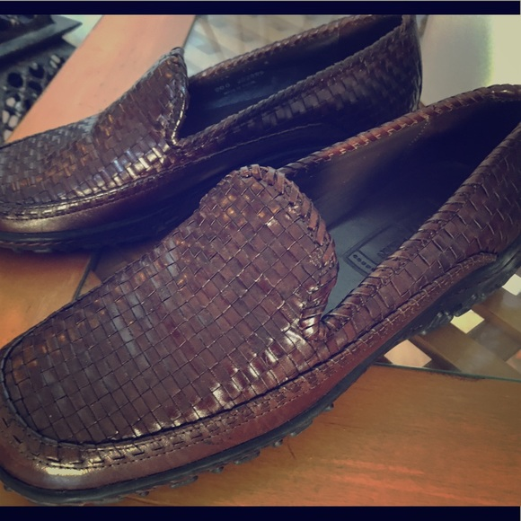 632ca3f92b9 Cole Haan Shoes | Country Woven Leather Sz 7 12 | Poshmark